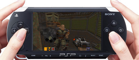 Quake II auf der PSP? Bald keine Utopie mehr.