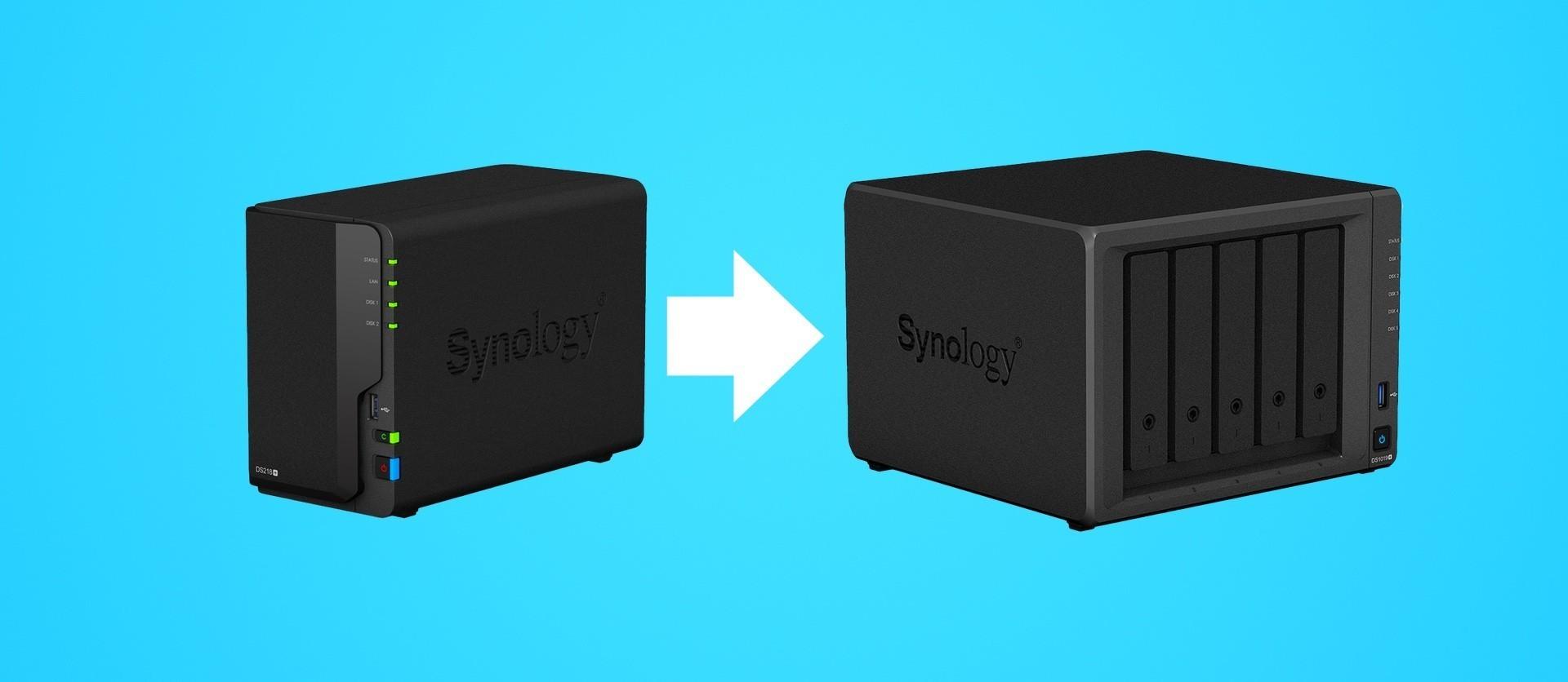 Synology Migration Was wird übertragen