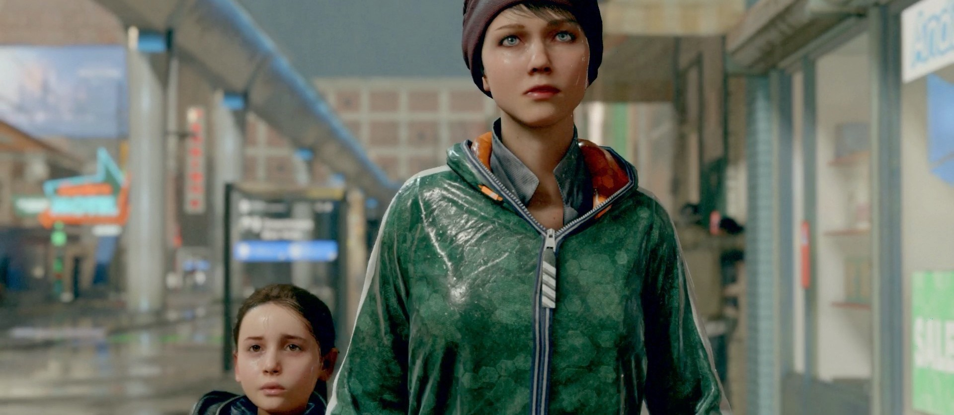Alice und Kara aus Detroit Become Human