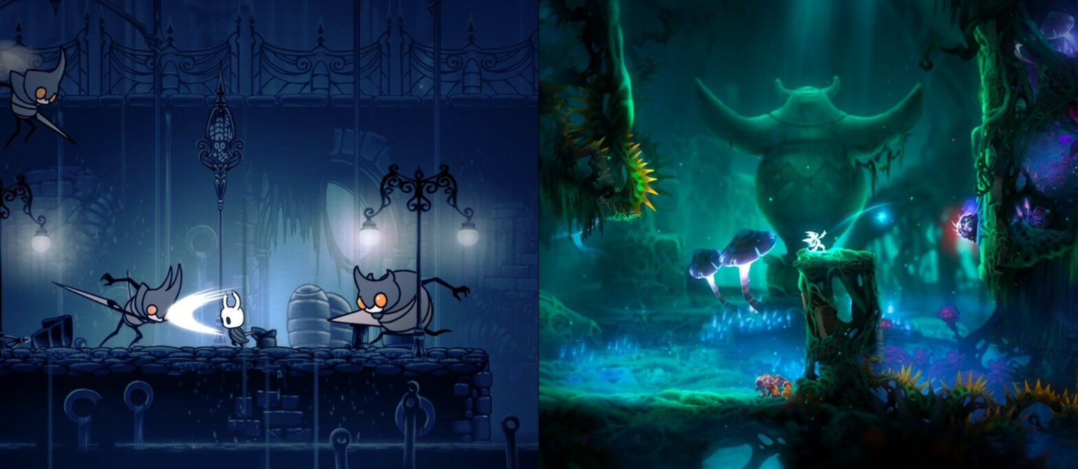 Hollow Knight VS Ori and the Blind Forest