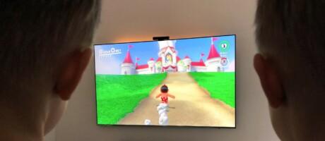 Mario auf dem Weg zum Schloss
