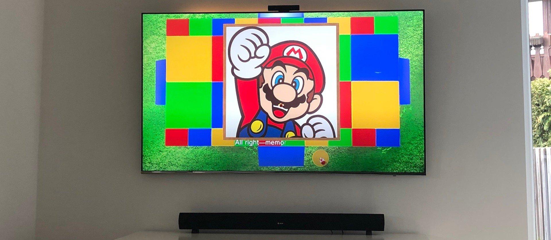 Mario Odyssey auf der Nintendo Switch ist ideal für die kleinen Zuschauer