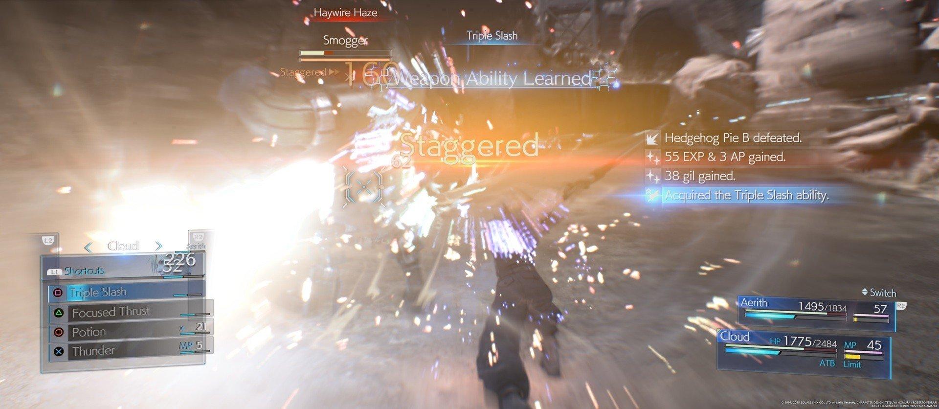 Die Kämpfe sind gefühlt genau so wie auf diesem Screenshot