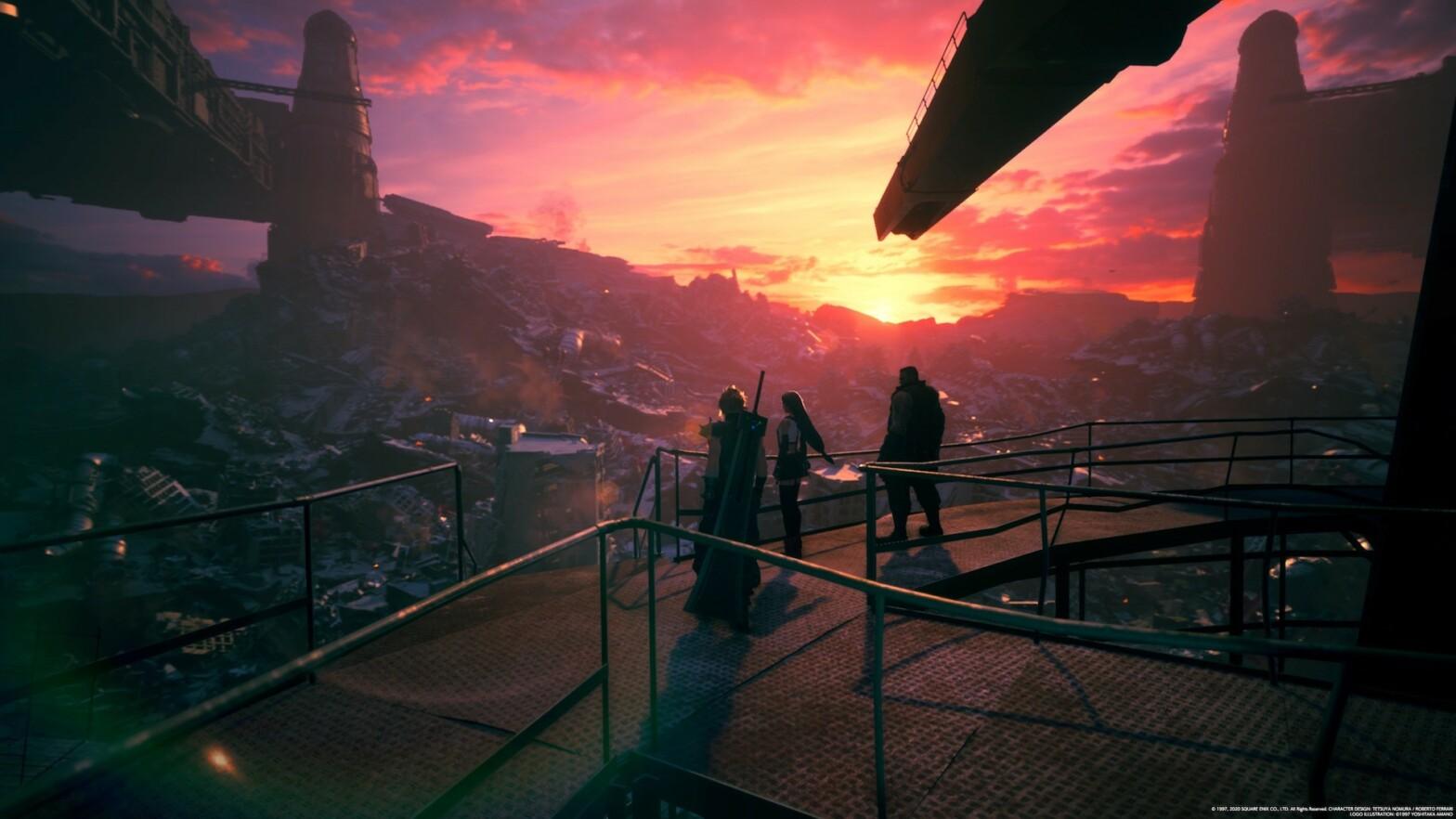 Einer meiner Lieblingstitel war Final Fantasy VII Remake