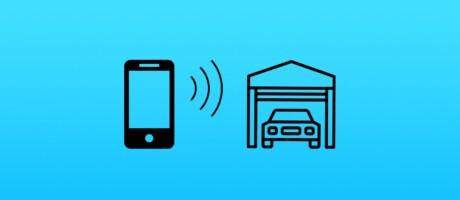 Wifi-Modul zum öffnen des Garagentores