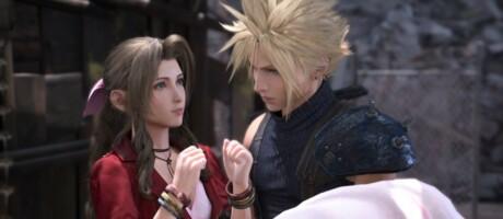 Auch im Remake zu Final Fantasy 7 ist Cloud fasziniert von Aerith