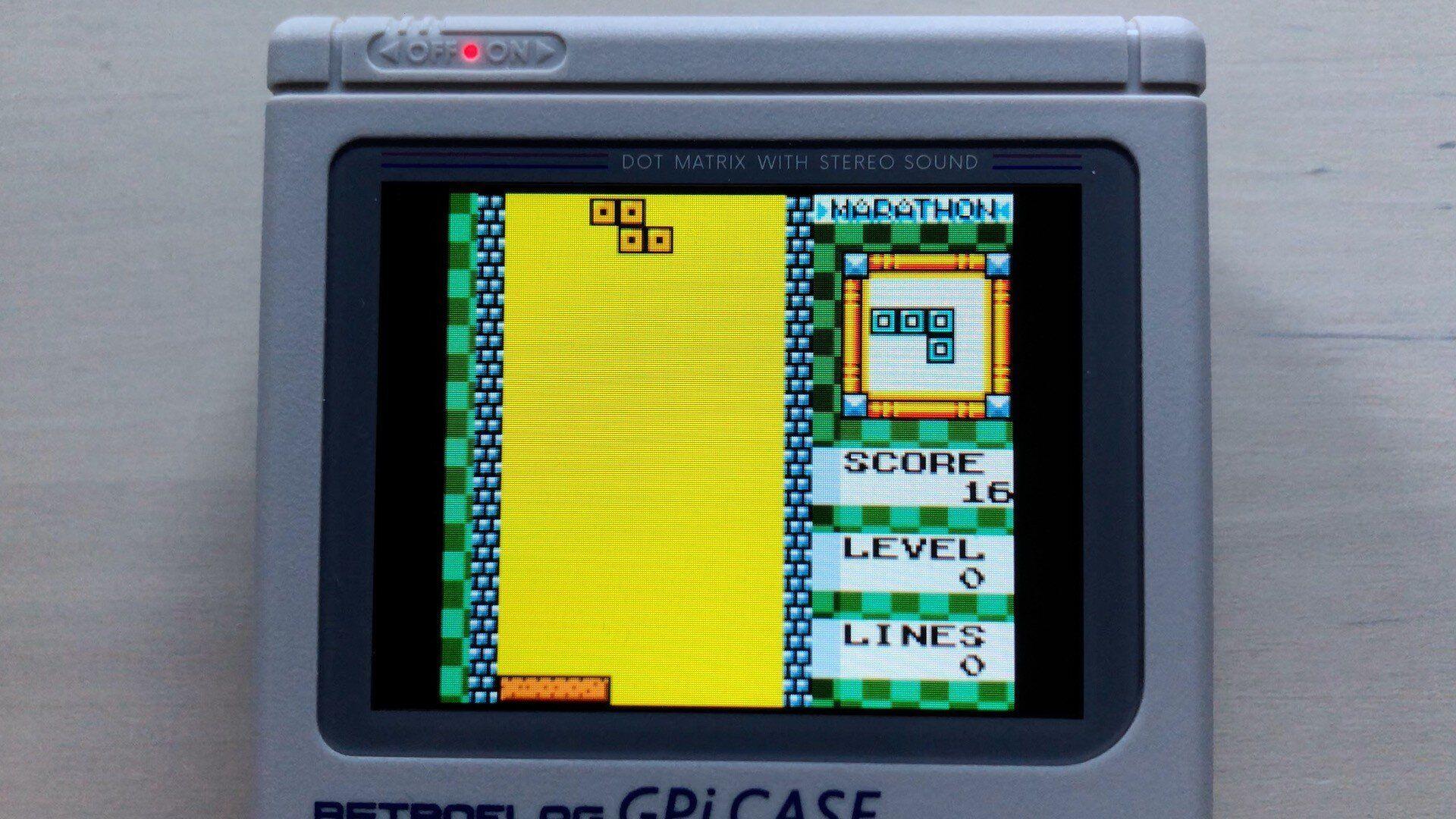 Tetris DX für den GameBoy Color ist das bessere Tetris