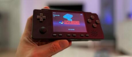 Retro Handheld für PlayStation und Super Nintendo