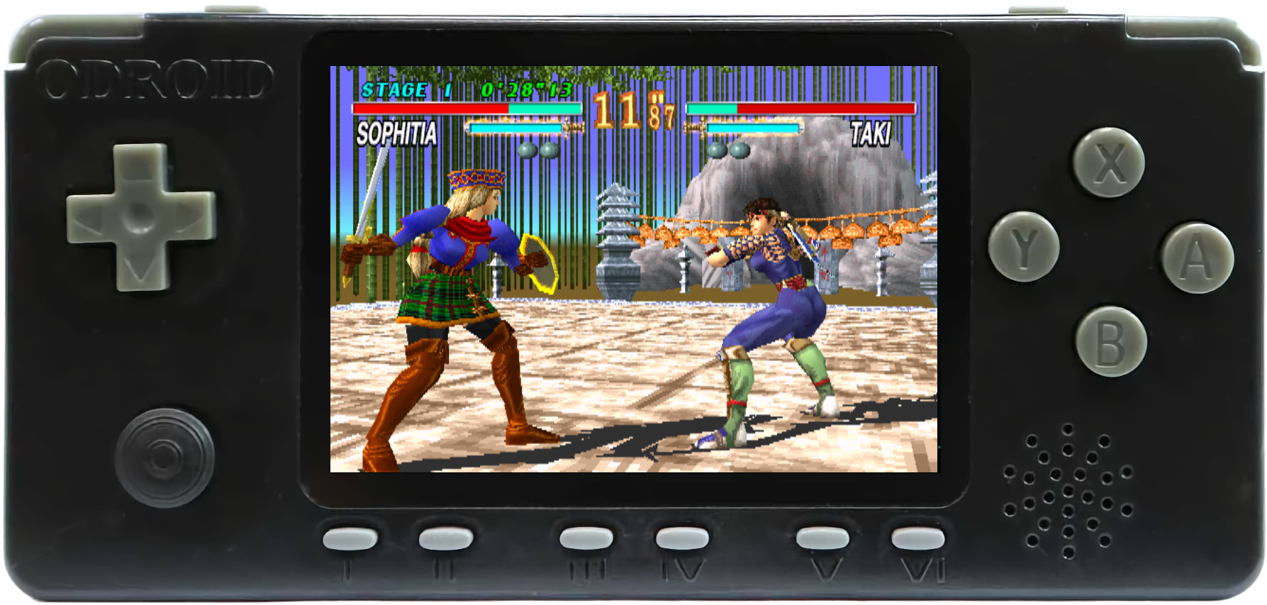 Soul Edge - PlayStation