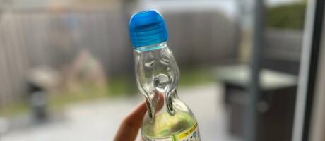 Flasche mit Kugelverschluss