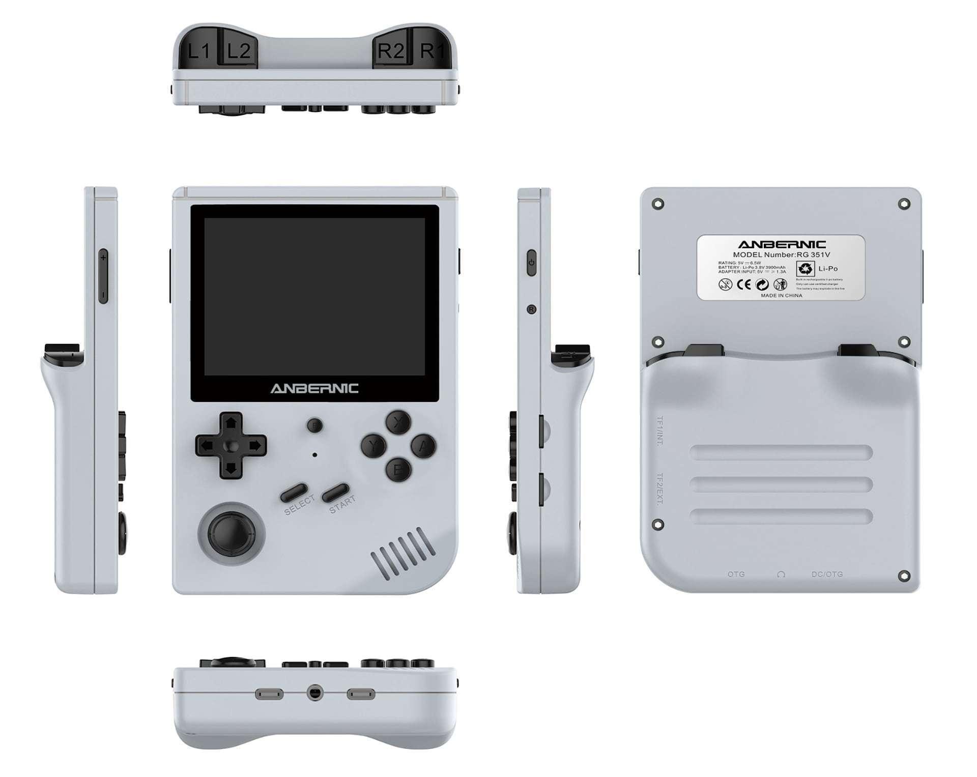 RG351V - Die bislang beste tragbare Konsole für Emulation.