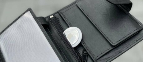 Brieftasche mit extra Fach für den AirTag