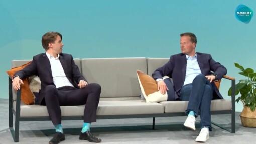 Marc Tönsing und Michael Frankenberg auf dem Mobility Summit 2021 im Stream.