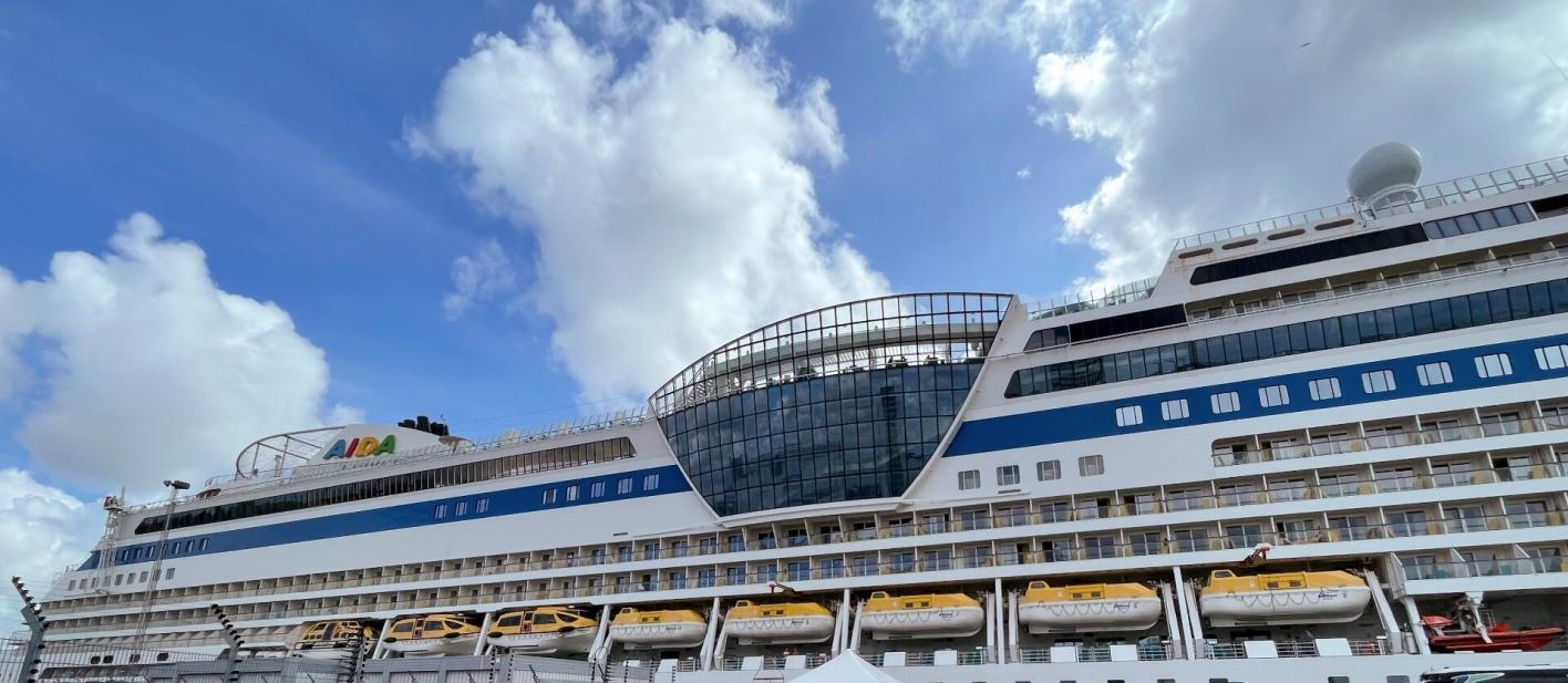 AIDA Mar von Hamburg nach Schweden
