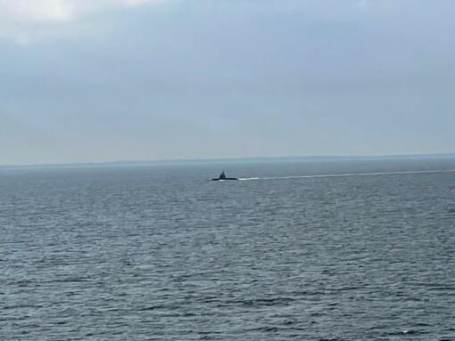 Ein echtes Unterseeboot direkt neben uns.