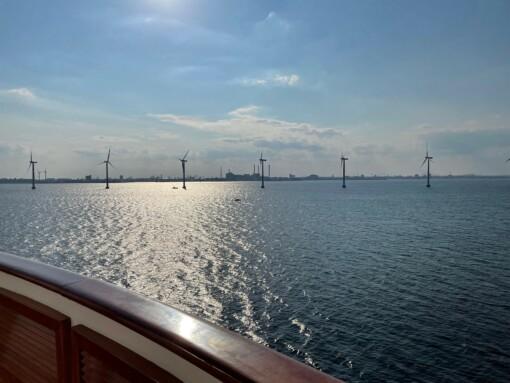 Windparks vor Göteborg