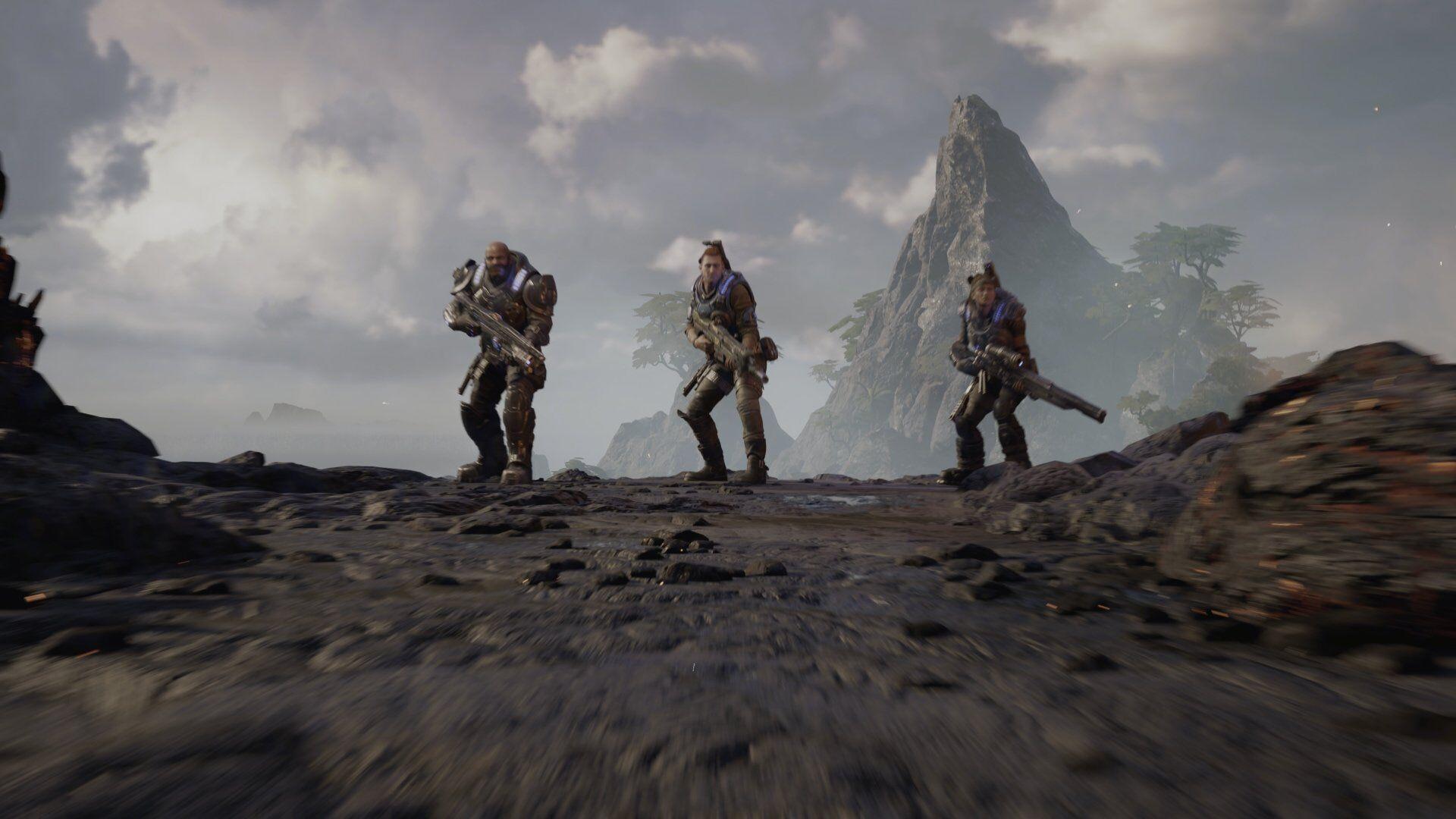Coop in Gears of War 5: Hivebusters mit zwei Freunden ist immer noch super.